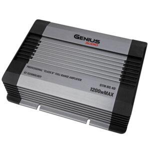 Amplificador o planta GENIUS GTM-80.4D 4Ch
