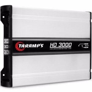 Amplificador o planta TARAMPS HD-3000 1 OHMIO