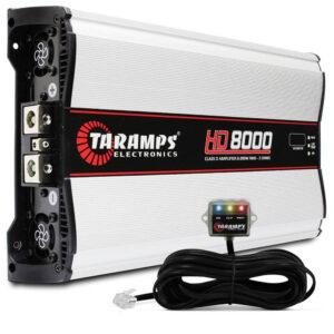 Amplificador o planta TARAMPS HD-8000 1Ohm