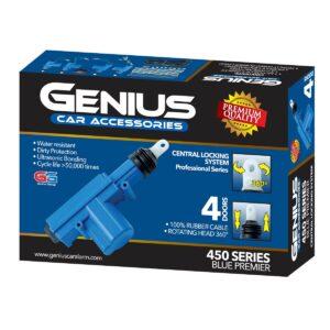 Bloqueo 4 puertas Genius CC4P Serie 450