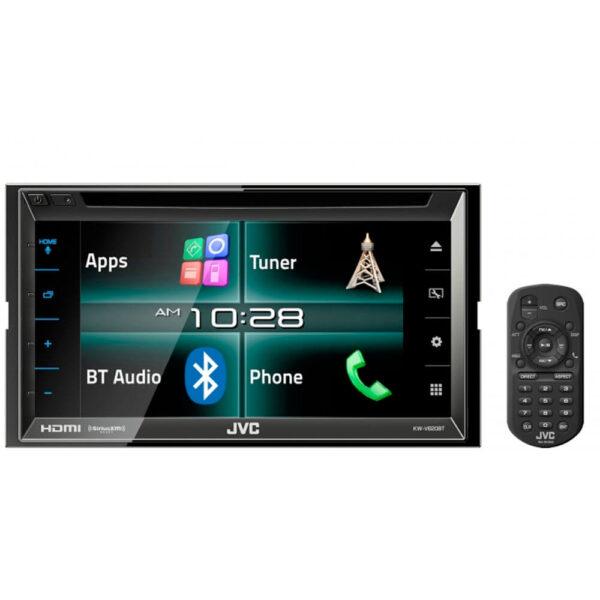 "DVD para Carro JVC KW-V620BT 2Din 6.8"" HDMI"