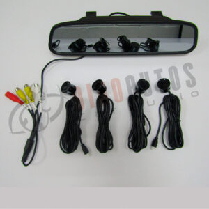 KIT DISPLAY 5 Sensores Camara LED Retrovisor