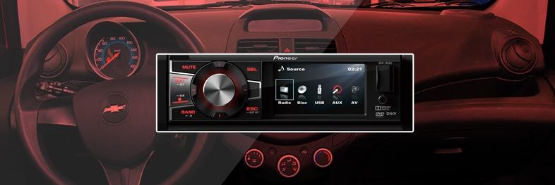 Radio para Spark GT Pioneer