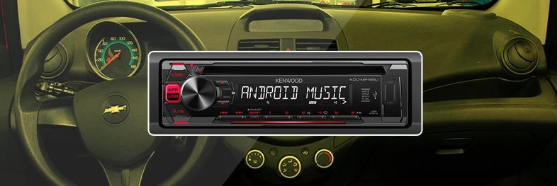 Radio para Spark GT Kenwood