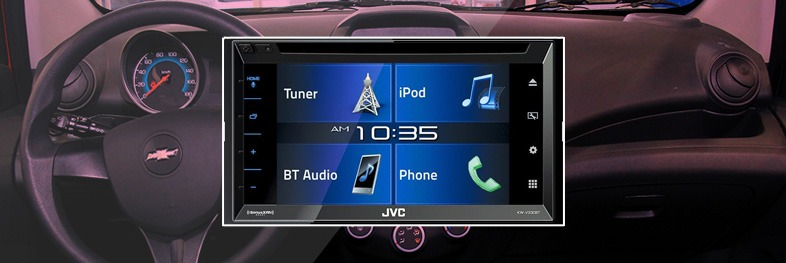 radio tactil para Spark GT JVC