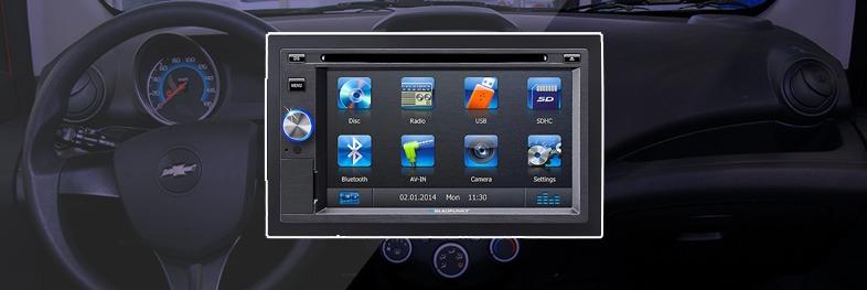 radio tactil para Spark GT Blaupunkt