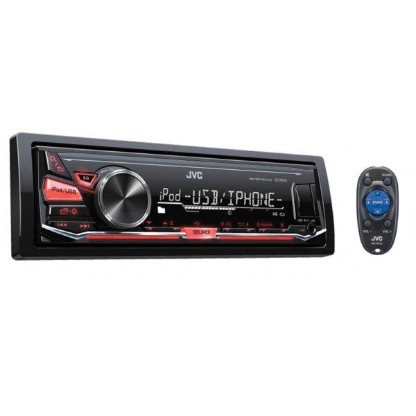 Radio JVC KD-X230 USB y AUX frontal