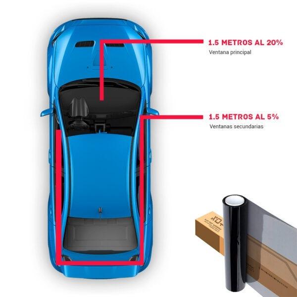 Nanocarbono para automóvil