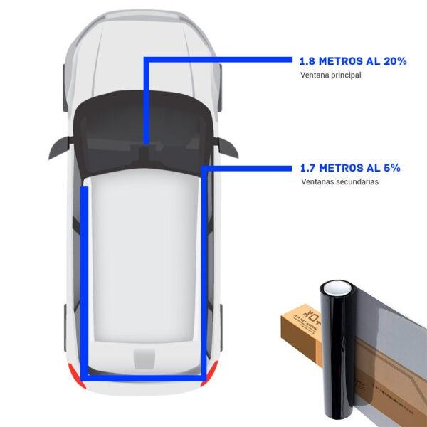 nanocerámico para camioneta