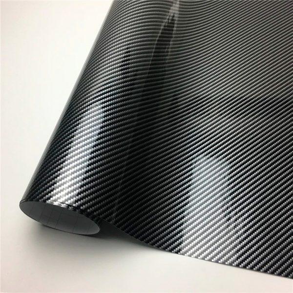 Rollo de vinilo fibra de carbon 5D